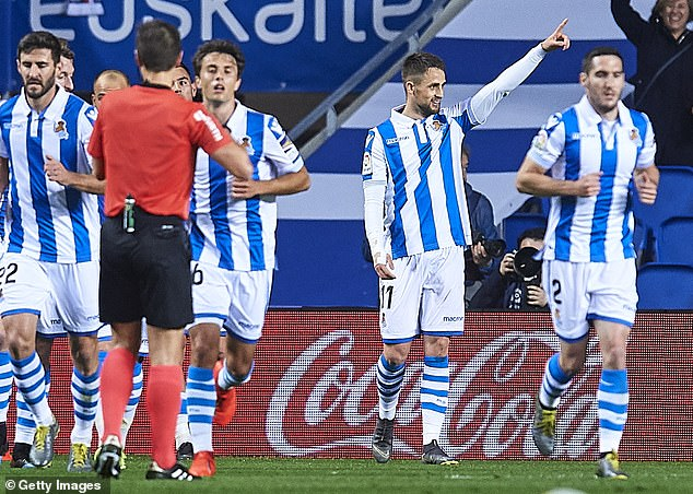The Belgium winger is now enjoying a strong season with Spanish side Real Sociedad