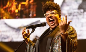 Brittany Howard at the BBC 6 Music Festival, the Roundhouse, London.