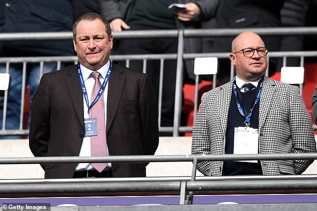 Mike Ashley has urged potential suitors not to try and make any takeover bid a public saga