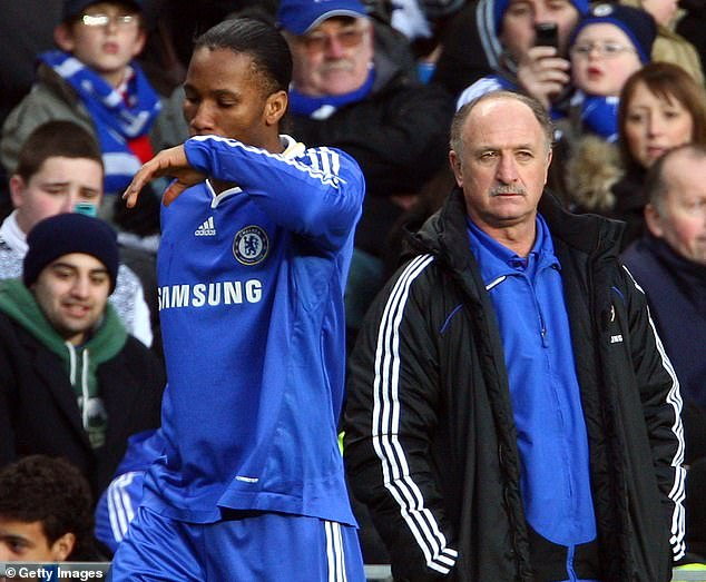 The Brazilian says clashes with Didier Drogba and Nicolas Anelka ultimately cost him his job