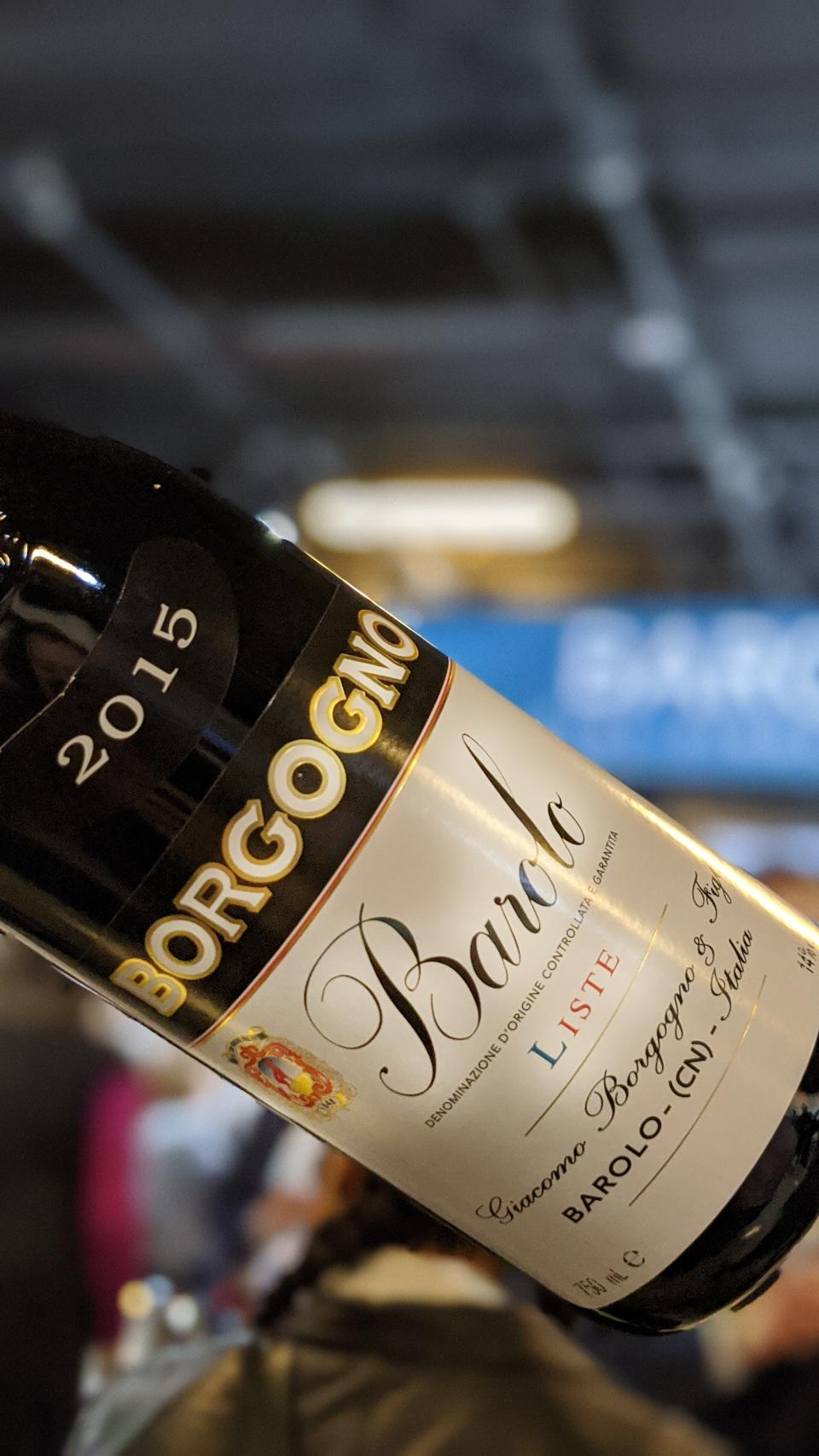 2015 Borgogno Barolo Single Vineyard ″Liste″