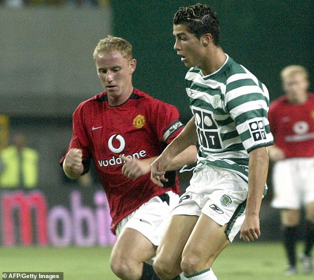 Ferguson was determined to sign Ronaldo permanently after he impressed against United