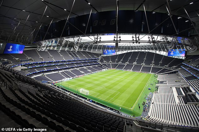 550 non-playing staff at Tottenham have been placed on furlough and the club intends to make use of the Government's job retention scheme