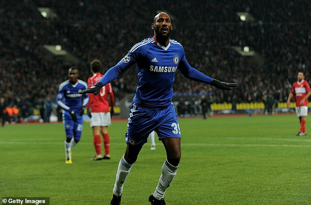 Nicolas Anelka was top scorer when he apparently told Scolari he could only play one position