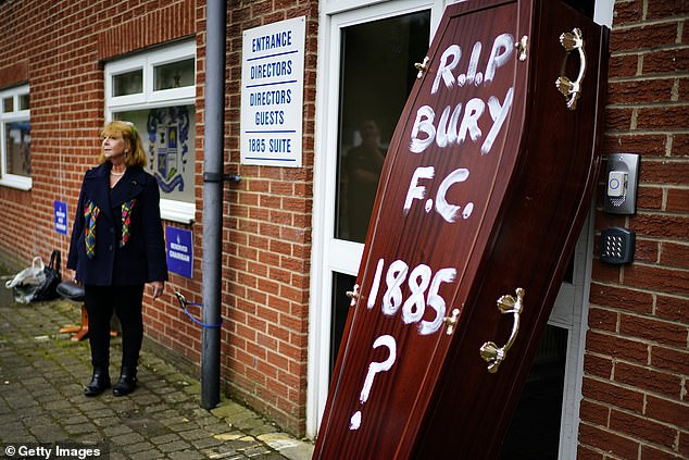 Bury have already gone to the wall this season and other EFL club could follow if a hardship fund isn't put in place during the lockdown