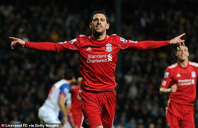The Argentine went on to score 17 goals in 73 appearances for the Premier League outfit
