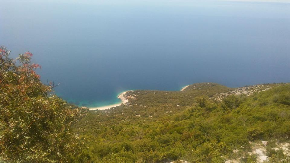 Coastal image of Losinj, Croatia