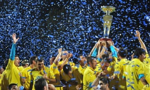 The 2009 Romanian champions Unirea Urziceni went out of business in 2011.
