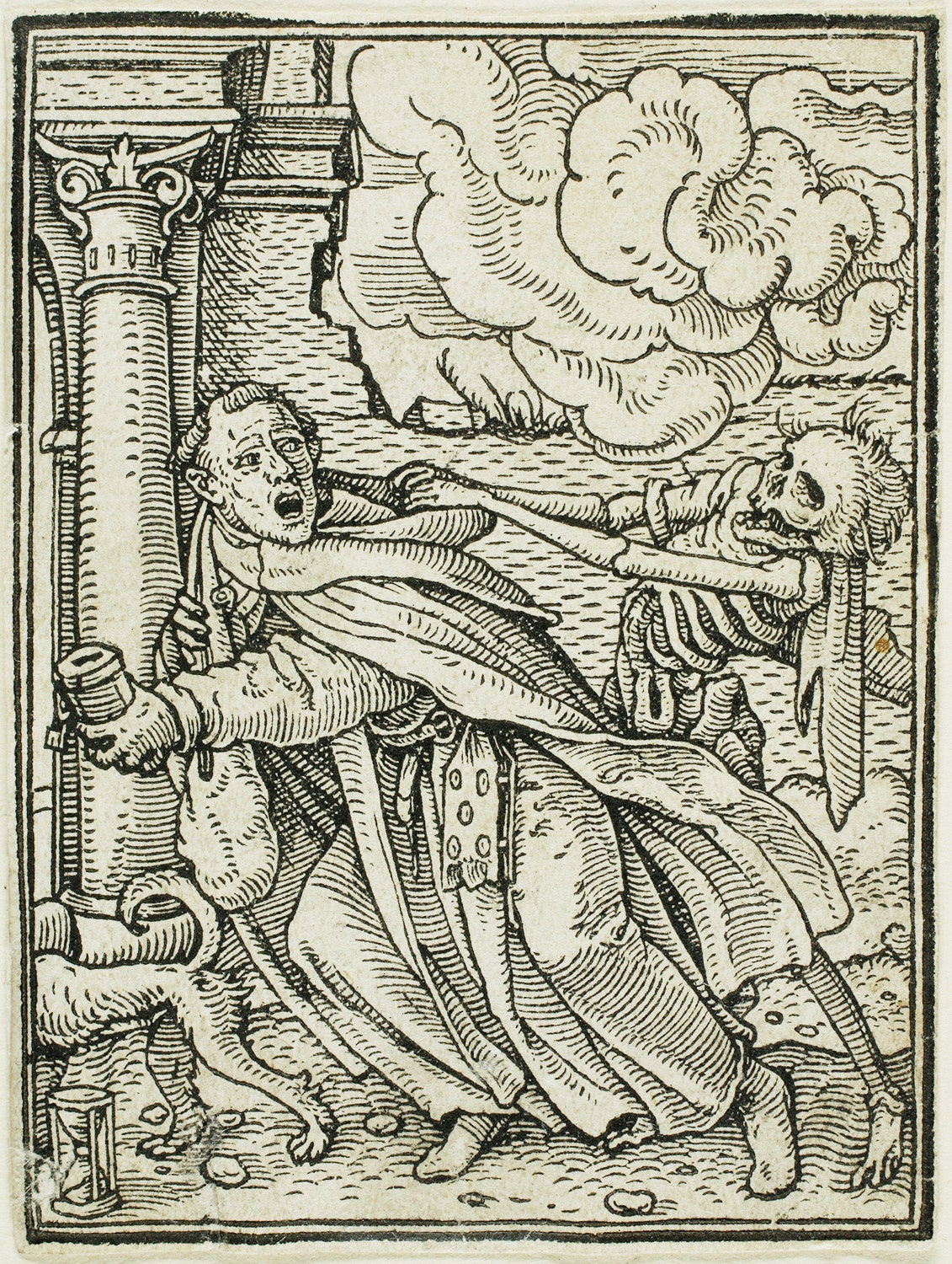 Artwork The Monk by Hans Holbein.