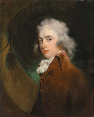 Portrait of the Hon Peniston Lamb by Thomas Lawrence.