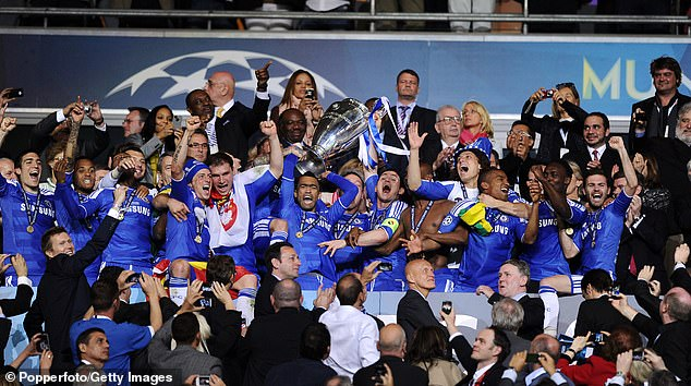 Chelsea's 2012 win is their only Champions League title - they also have two Europa Leagues