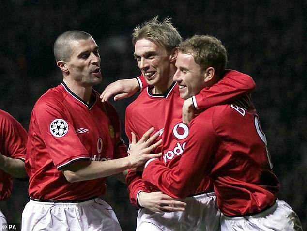 Chadwick recalled former United captain Roy Keane helping him with contracts and training