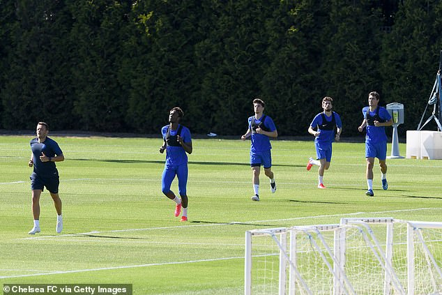 Chelsea return to training after it's revealed there are six coronavirus cases in Premier League