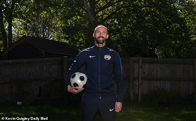 Chadwick is now a 39-year-old community coach after breaking through at United in 2000